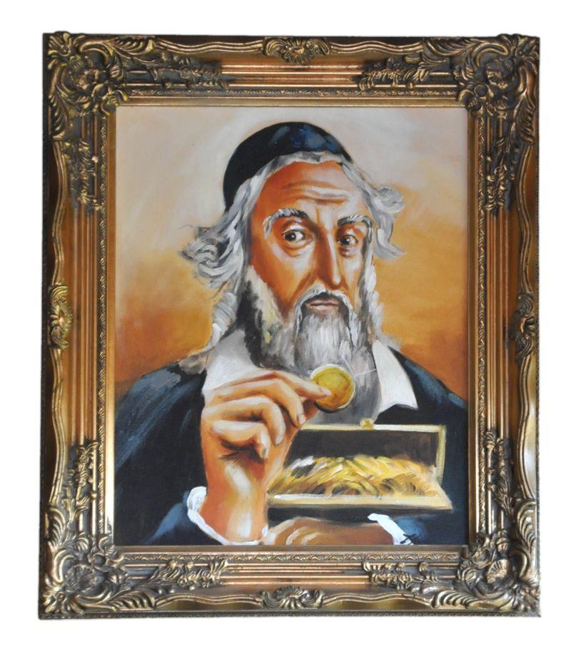 Obraz, Žid BGO16