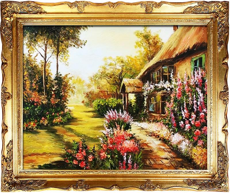 Obraz, zahrada B00396