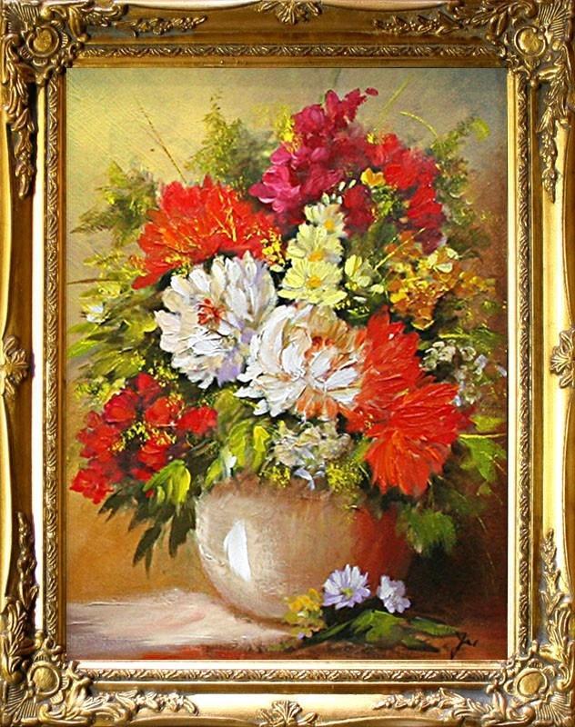 Obraz, květy B02192