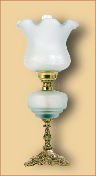 Petrolejová/elektrická lampa 19-0
