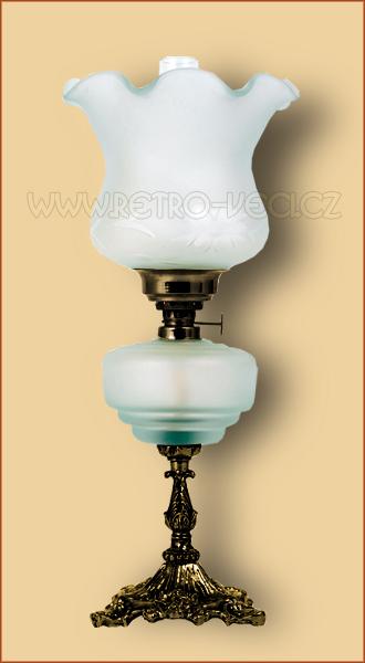 Petrolejová/elektrická lampa 19-0O
