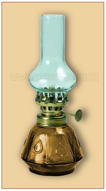 Petrolejová lampa mini 07AP0021