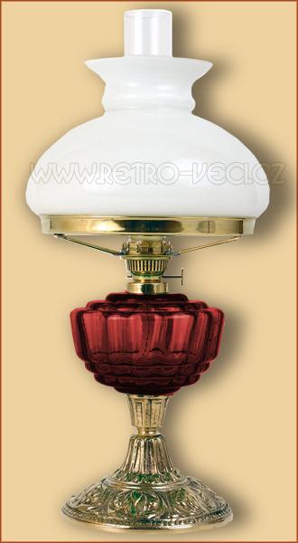 Petrolejová/elektrická lampa 24RP