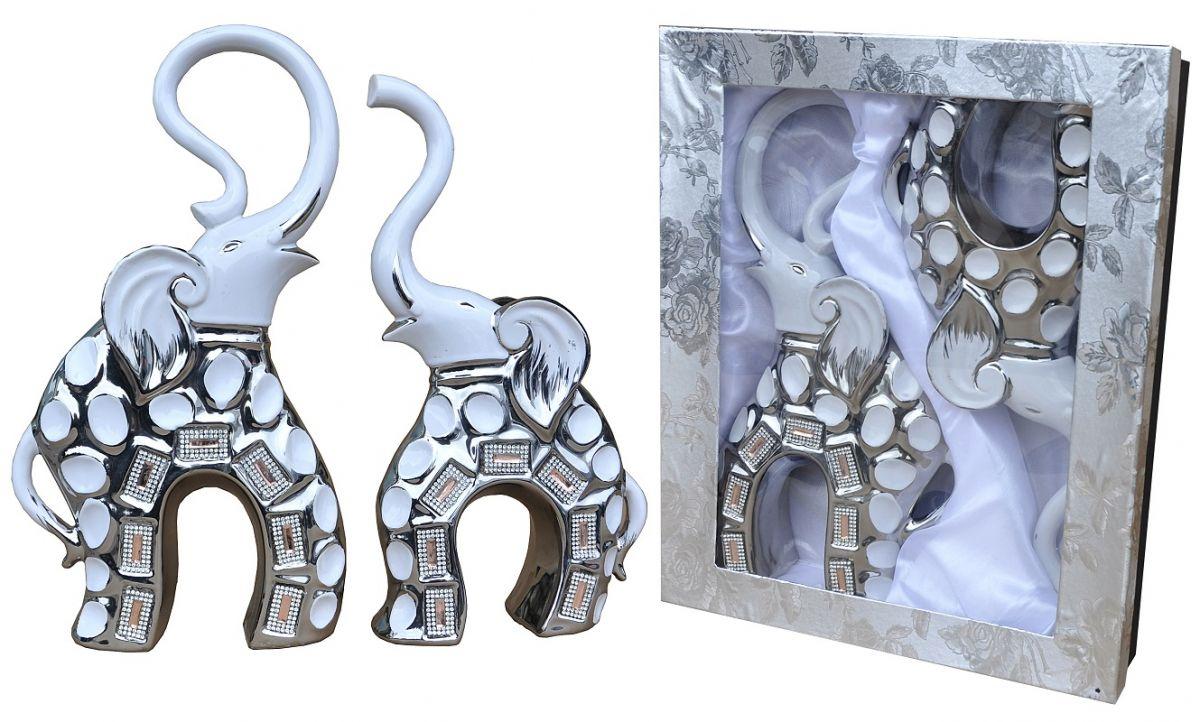 Dekorační sada 2x slon, BCOM17A089WS