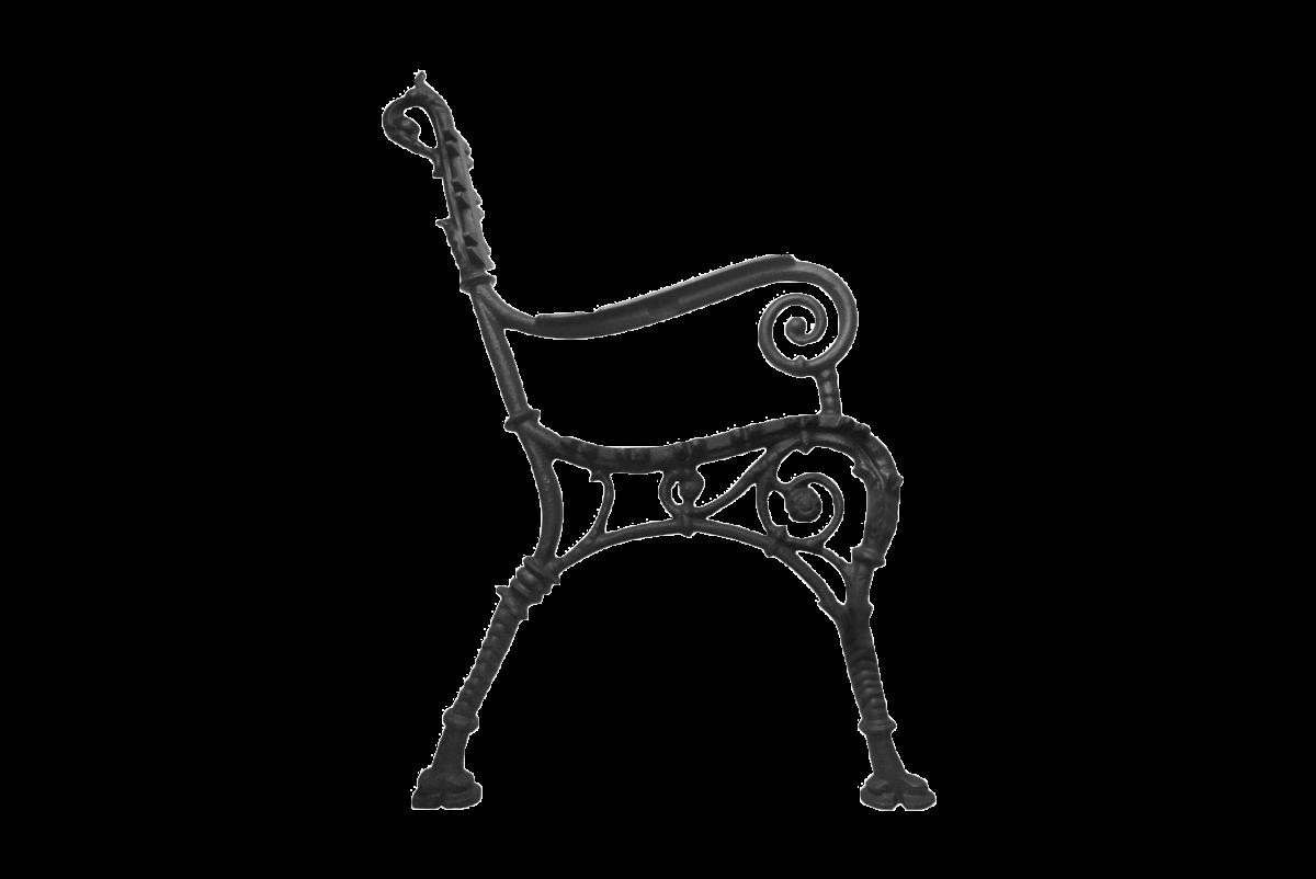 Noha lavice zdobená GRNR27V