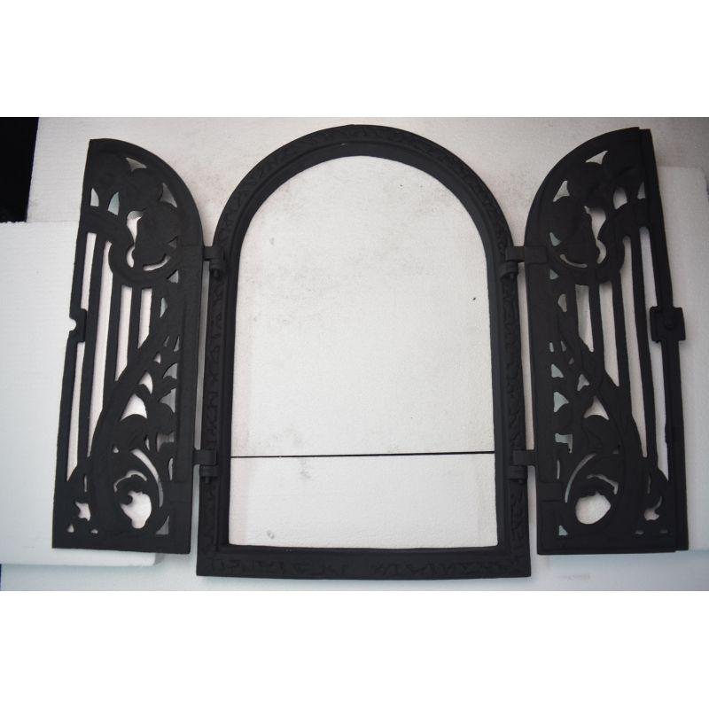 Litinové dveře s průsvitem GRDRB10