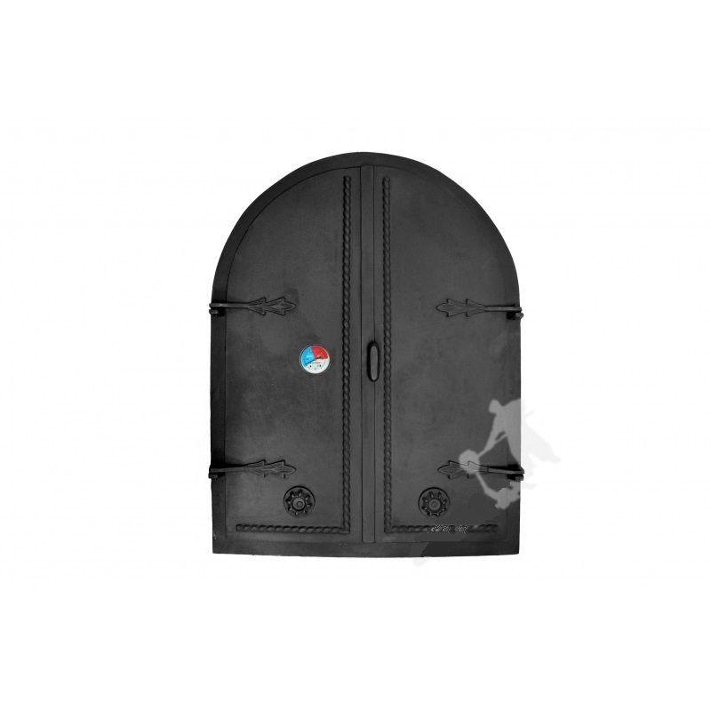 Litinové dvoukřídlé dveře GRDDWA2T