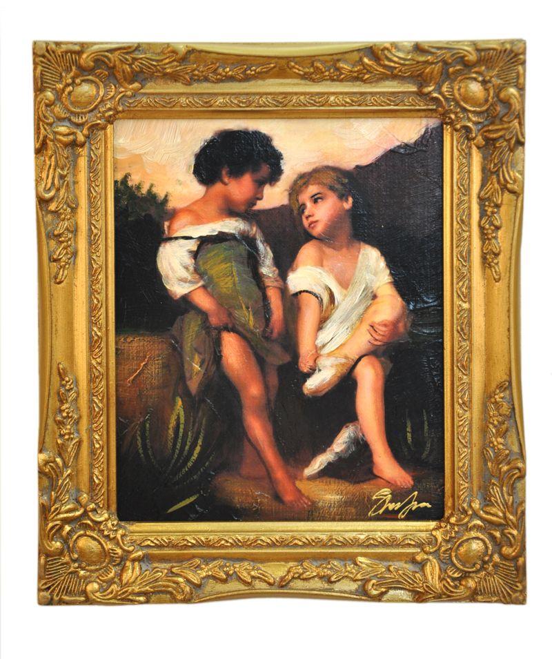 Obraz, Dvě dívenky BGO9