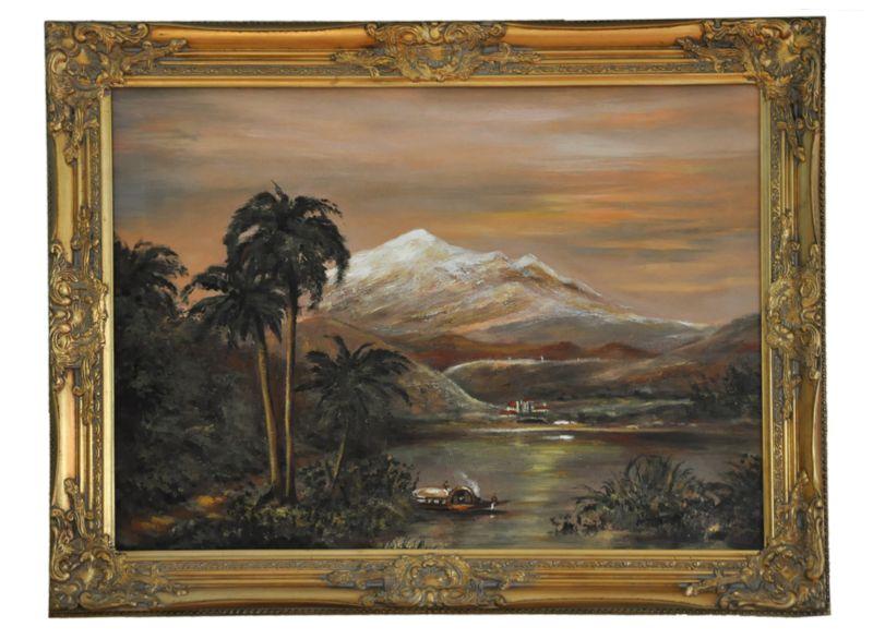 Obraz, Tropický ostrov B 01673