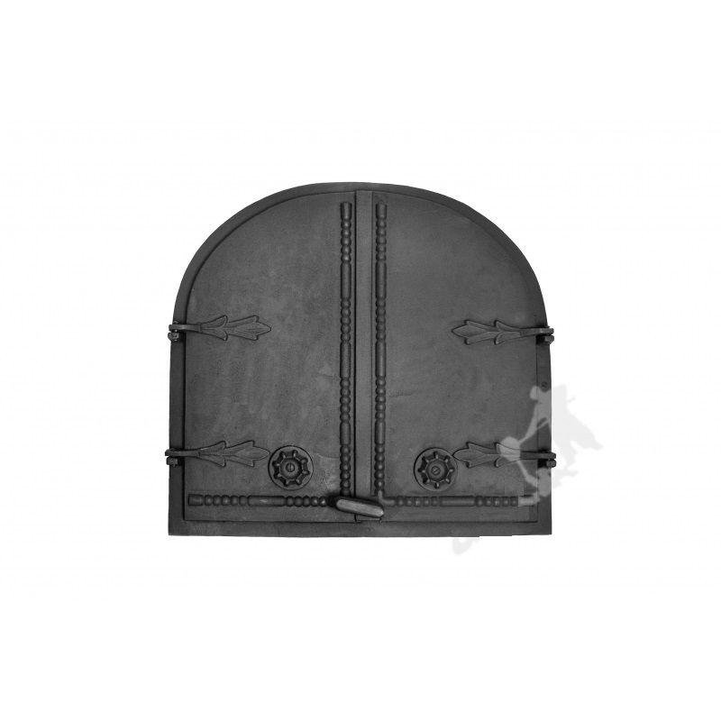 Litinové dvoukřídlé dveře GRDWPB1