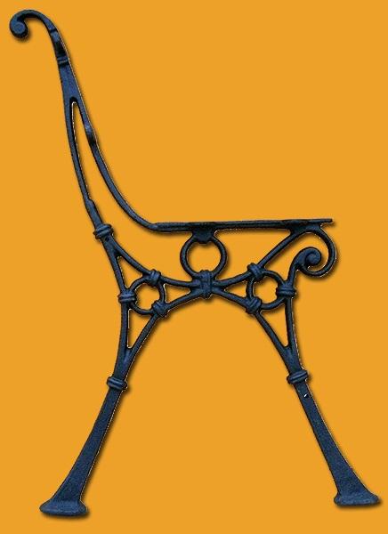 Litinová noha lavice RONGDL3