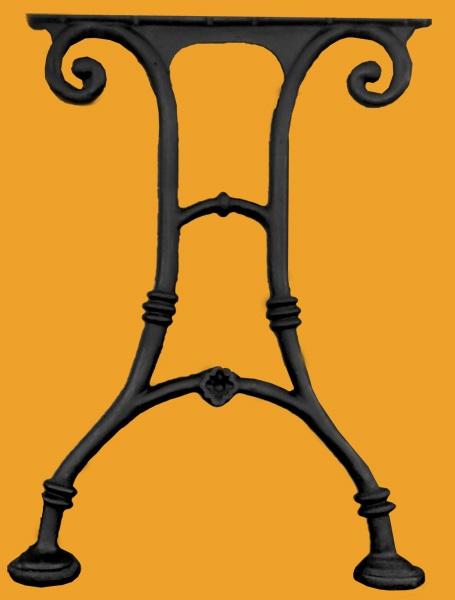Litinová noha stolu GR6A02