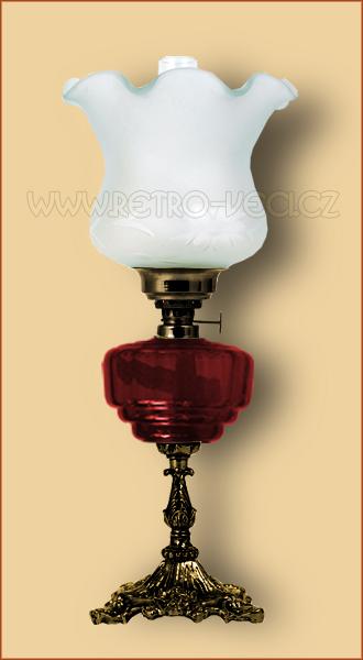 Petrolejová/elektrická lampa 19-1O