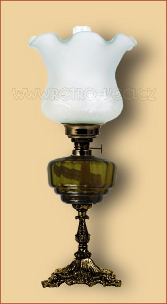 Petrolejová/elektrická lampa 19-4O
