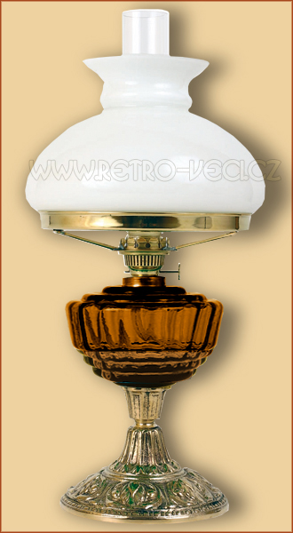 Petrolejová/elektrická lampa 24AP