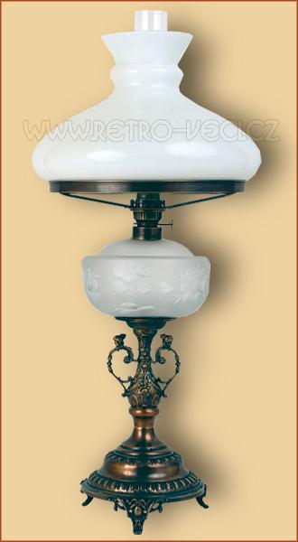 Petrolejová / Elektrická lampa 21FO