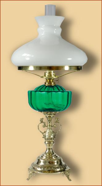 Petrolejová / elektrická lampa 21GP