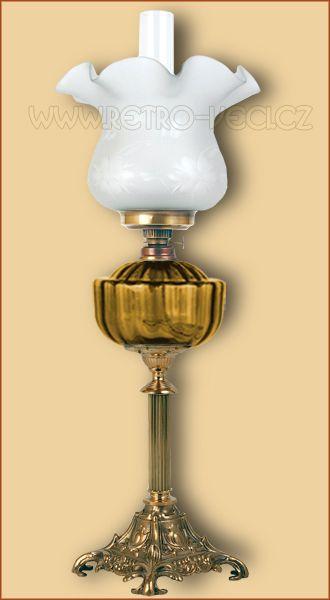 Stolní lampa petrolejová / elektrická 48AP