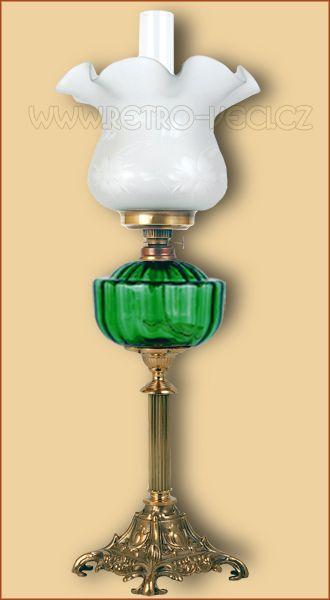 Stolní lampa petrolejová/elektrická 48GP