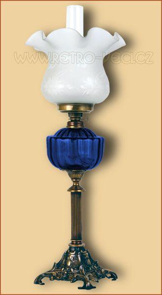Stolní lampa petrolej/elektrická 48CO