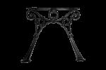 Litinová noha lavice RONGDL8