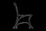 Litinová noha, parková GRNR19