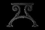 Litinová noha lavice RONGDL7